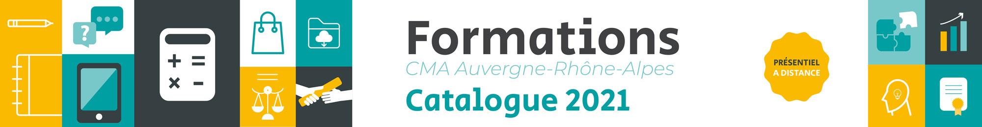 catalogue formations 2021 CMA